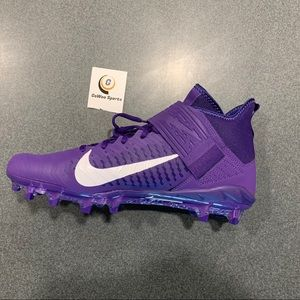 Nike Alpha Menace Pro 2 MID Football Cleats (New)